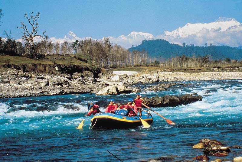 Rafting on the Seti River