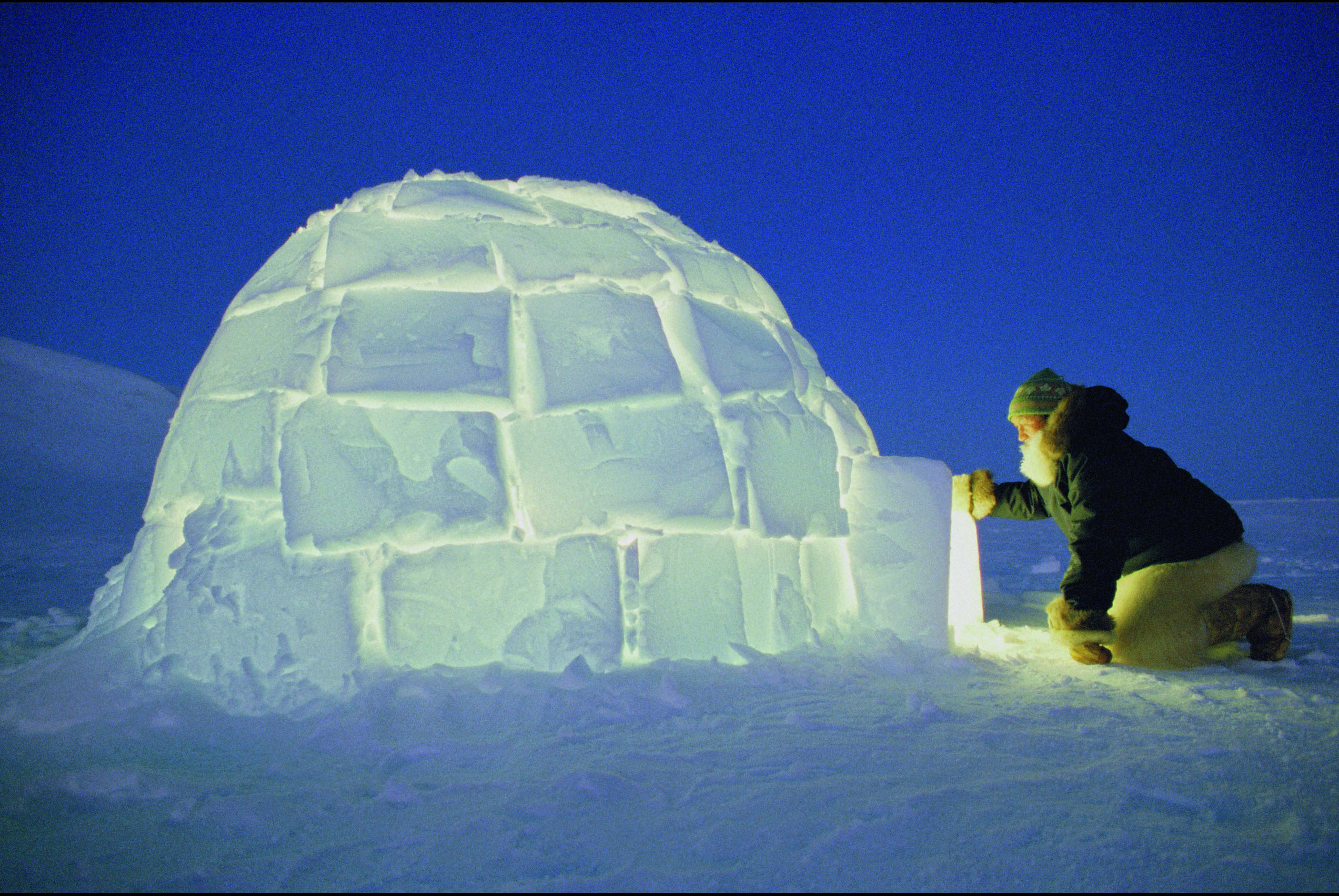 Build your own igloo