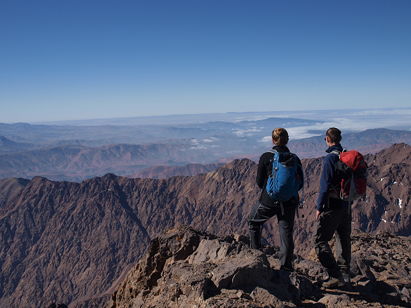 Views from Mt Toubkal
