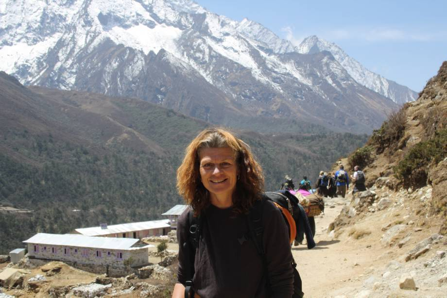 Valerie in Nepal