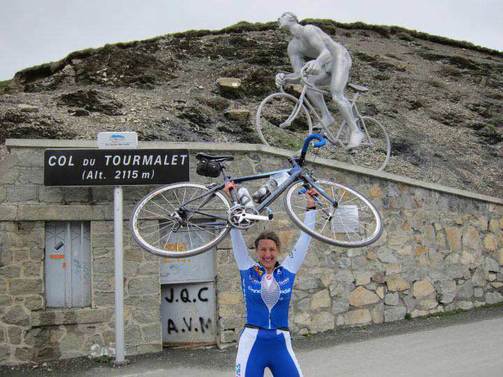 At the top of Col de Tourmalet