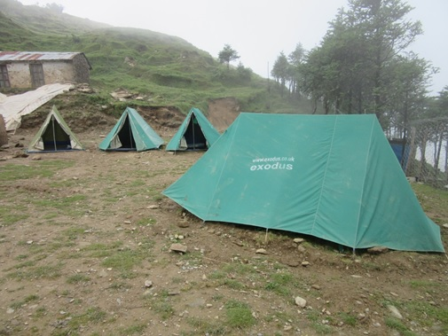 Old tents now back in service