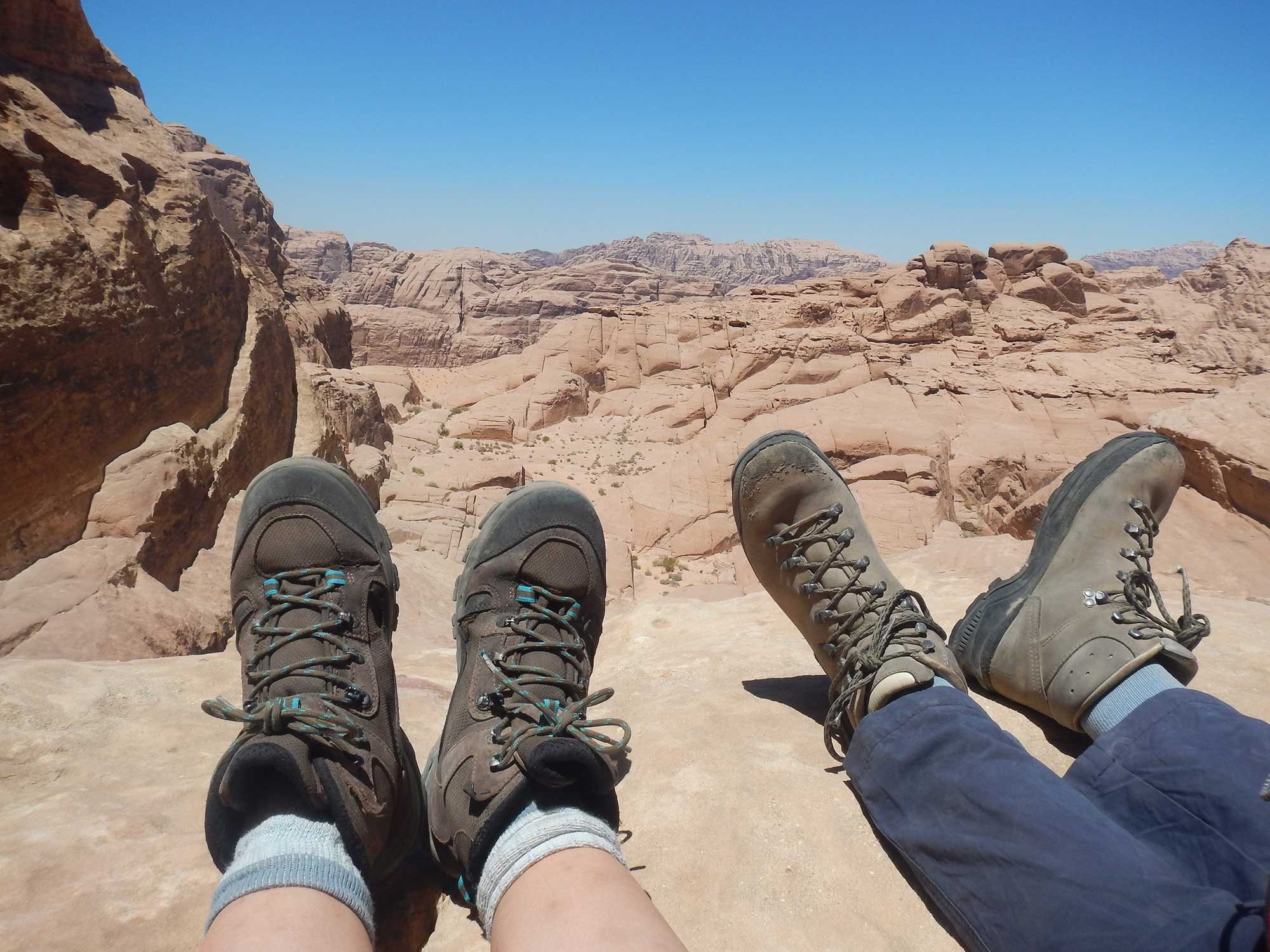 Walking boots in Jordan