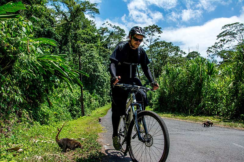 Cycling in Central America