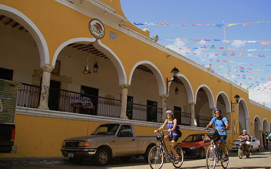Cycling Izamal