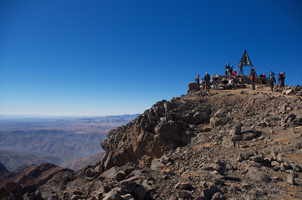 Peak of Mount Toubkal