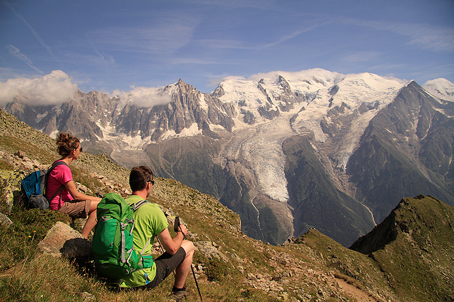 Overlooking the Brevant, Mont Blanc Massif