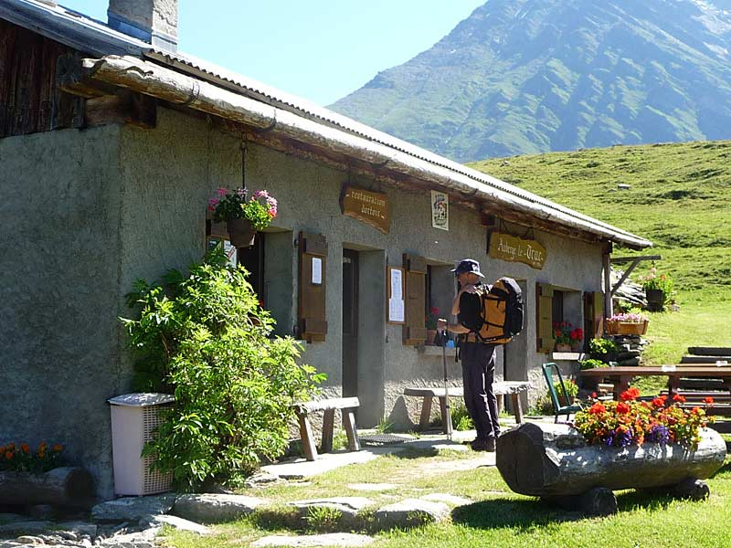 Refuge on the Tour du Mont Blanc