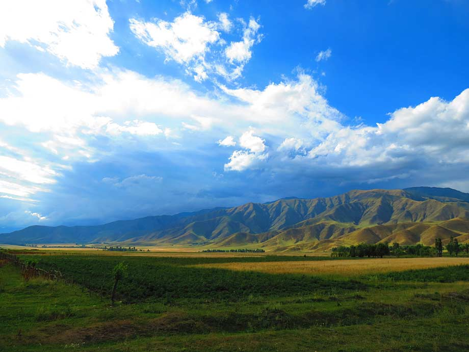 Issyk Kul Lake region