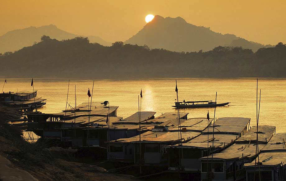The River Mekong, Laos