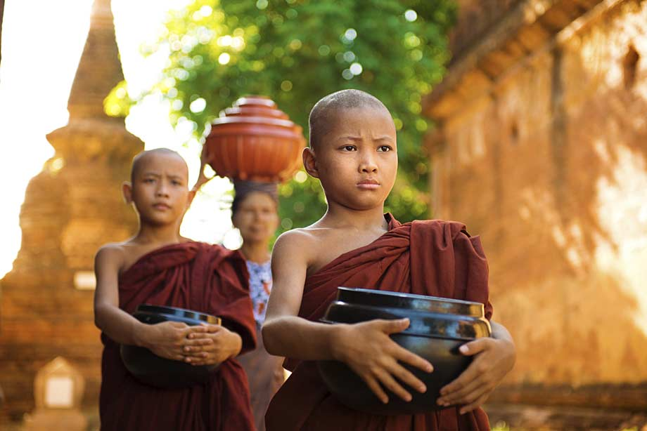 Monks, Myanmar/Burma