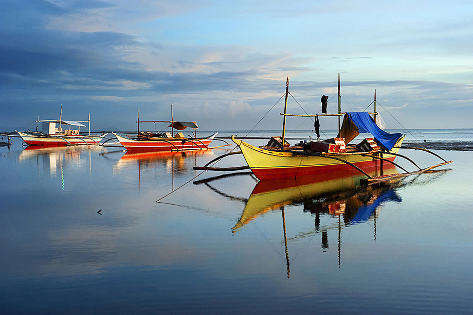 Fishing boats, Philippines