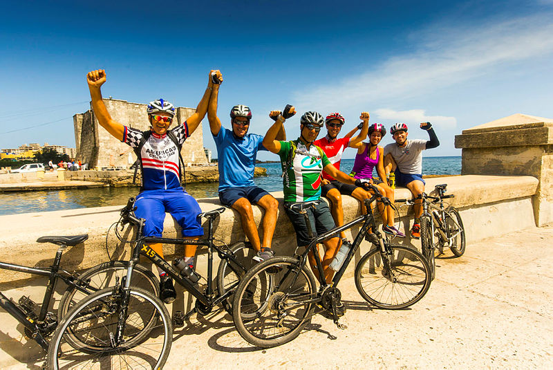 Group, Cycling Cuba