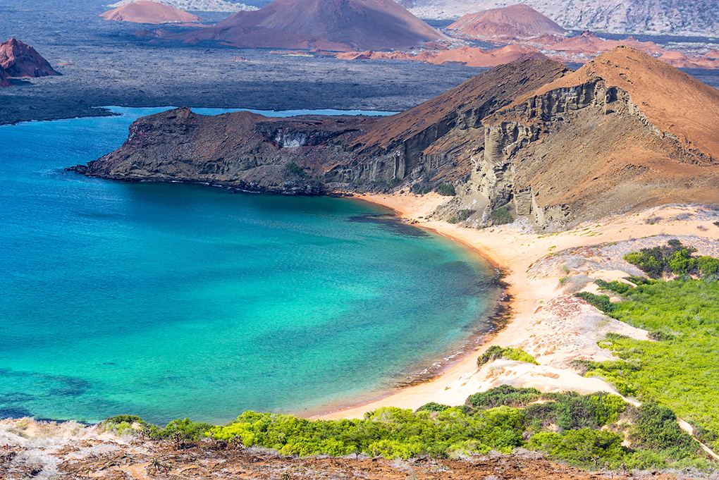 Beautiful Coast View in Galapagos