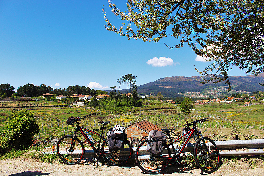 A pause, self-guided cycling in Portugal