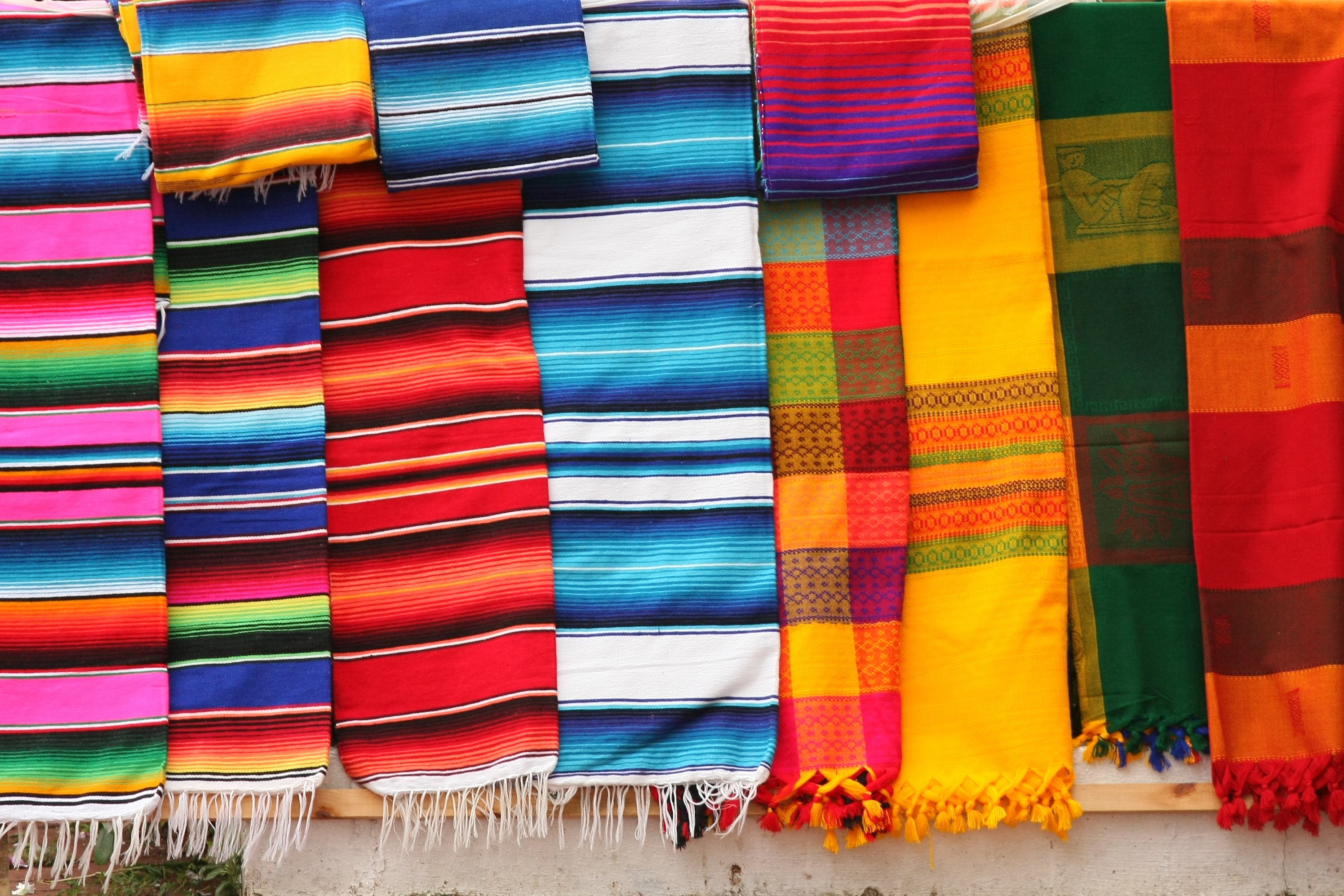 Mexican scarves