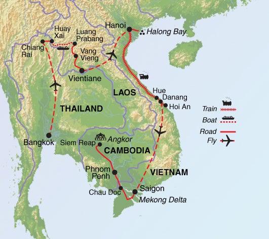 Thai Indochina Grand Tour Guardian Holidays