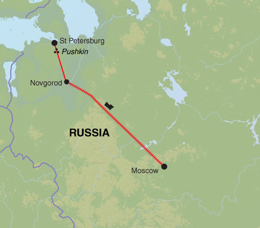 Moscow To St Petersburg Guardian Holidays