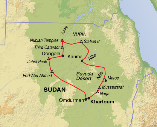Sudan Holiday Desert Explorer Helping Dreamers Do