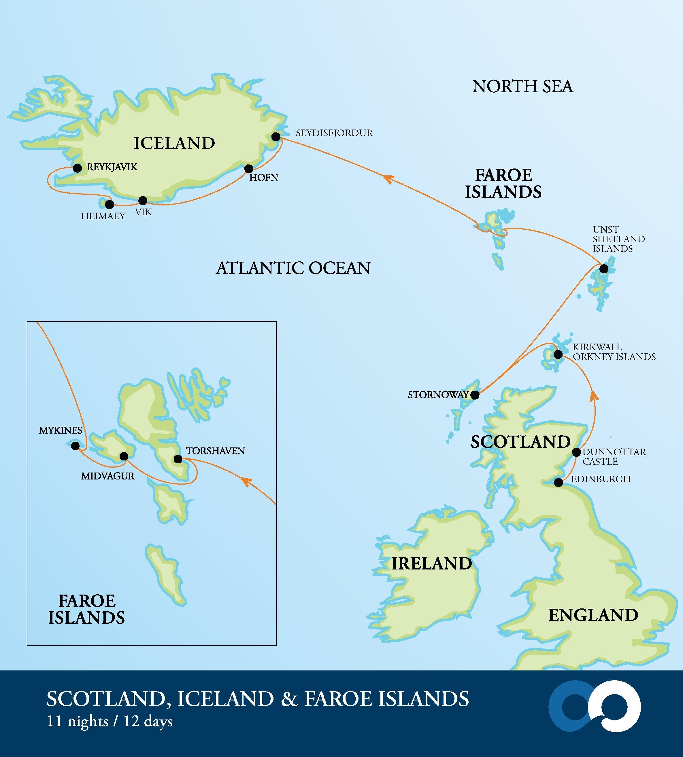 Scotland Faroe Islands Amp Iceland Guardian Holidays