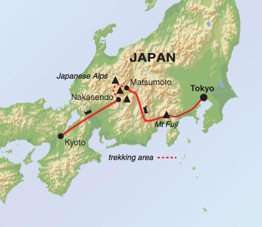 Japan Walking Holiday Mt Fuji And The Japanese Alps Helping