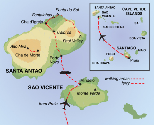 Undiscovered Trails of Cape Verde | Guardian Holidays on