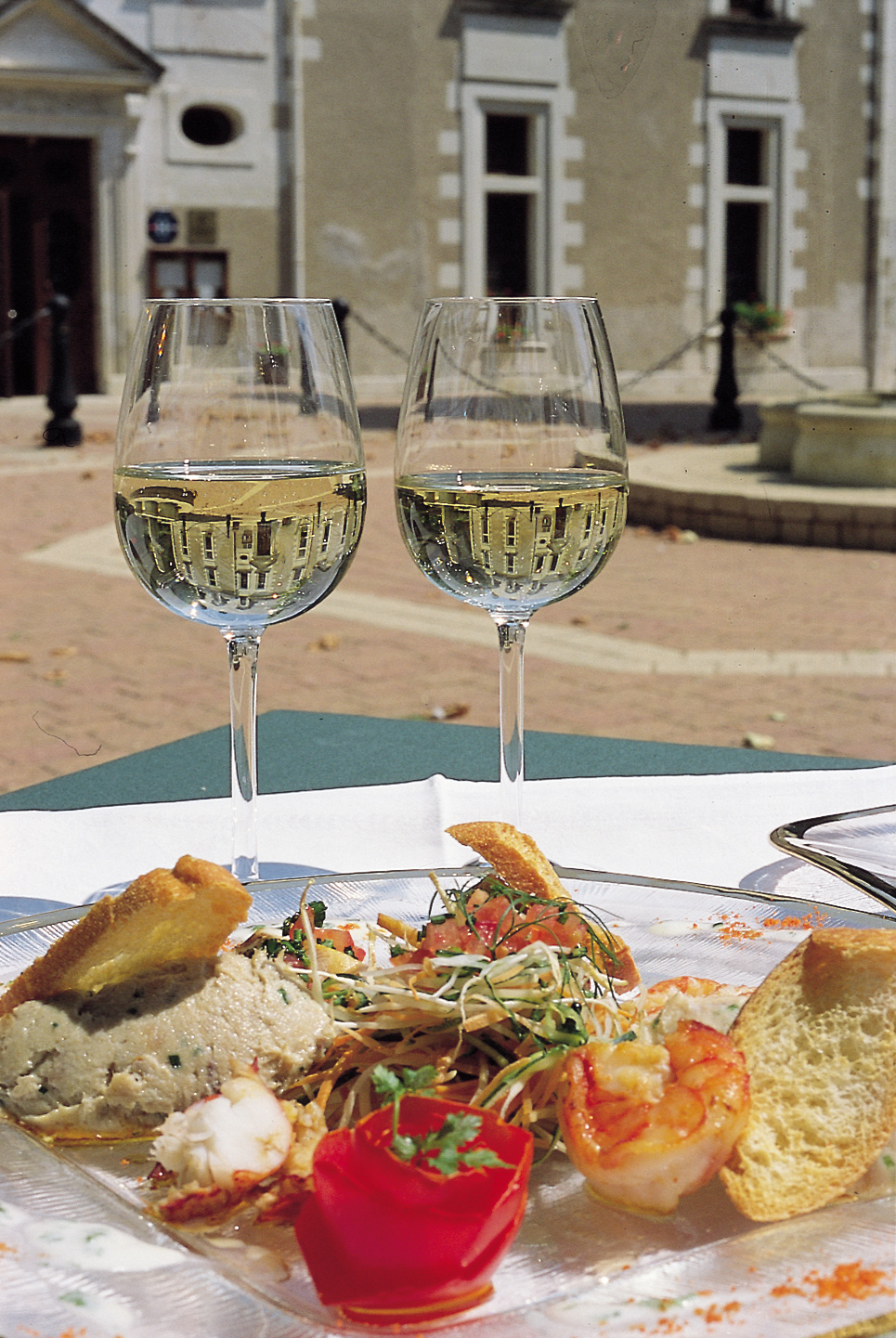 Loire Gastronomic Self-Guided Cycling