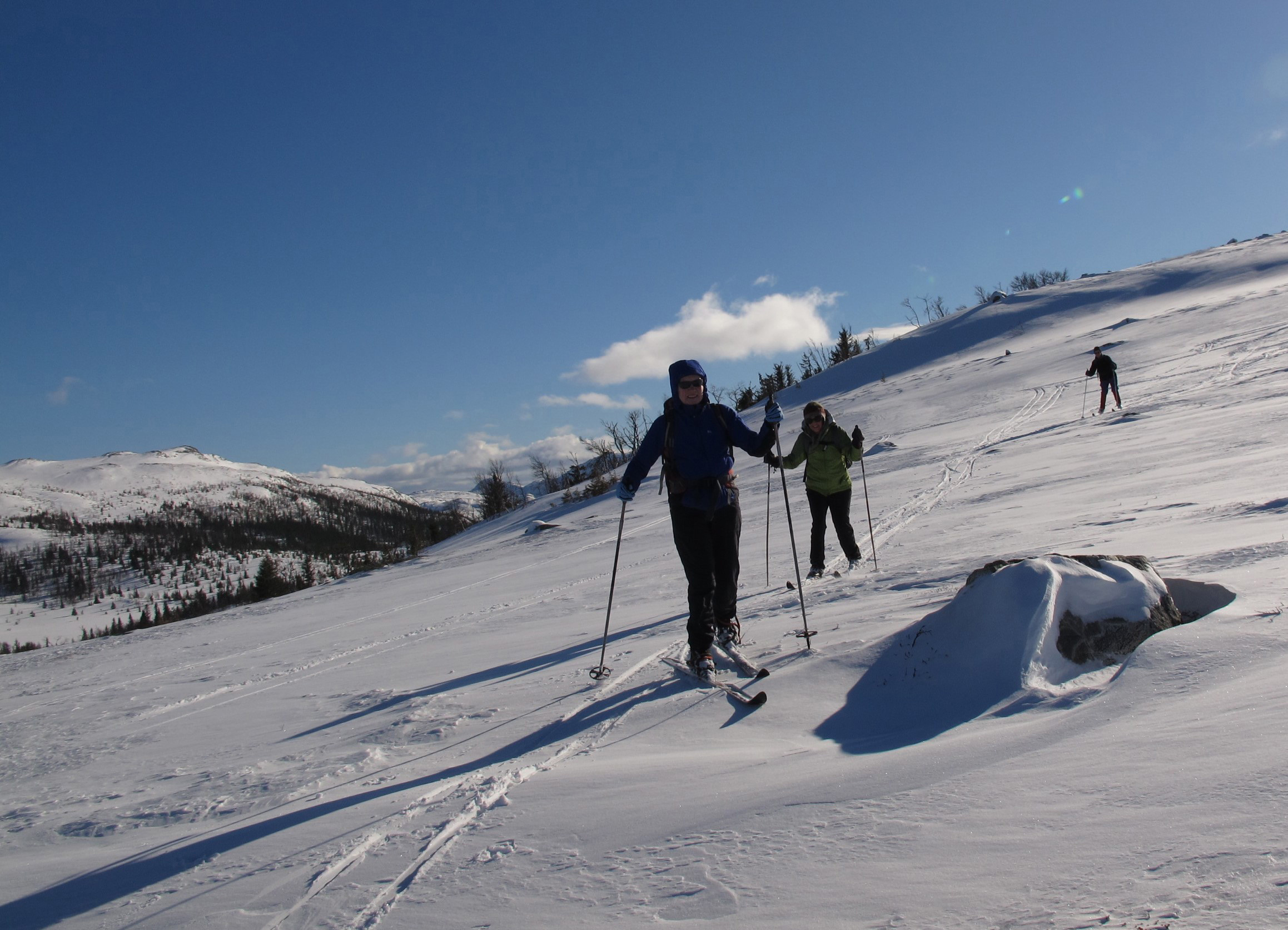 Cross-country Skiing: Kvitavatn