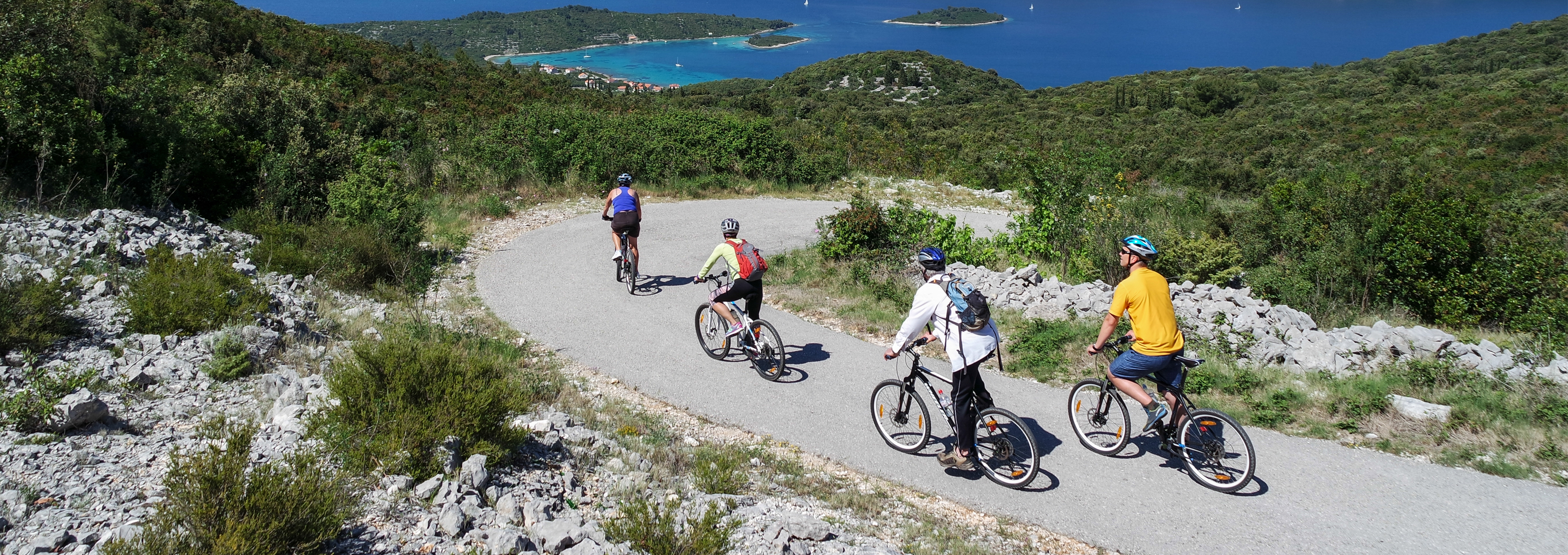 Cycling the Dalmatian Coast