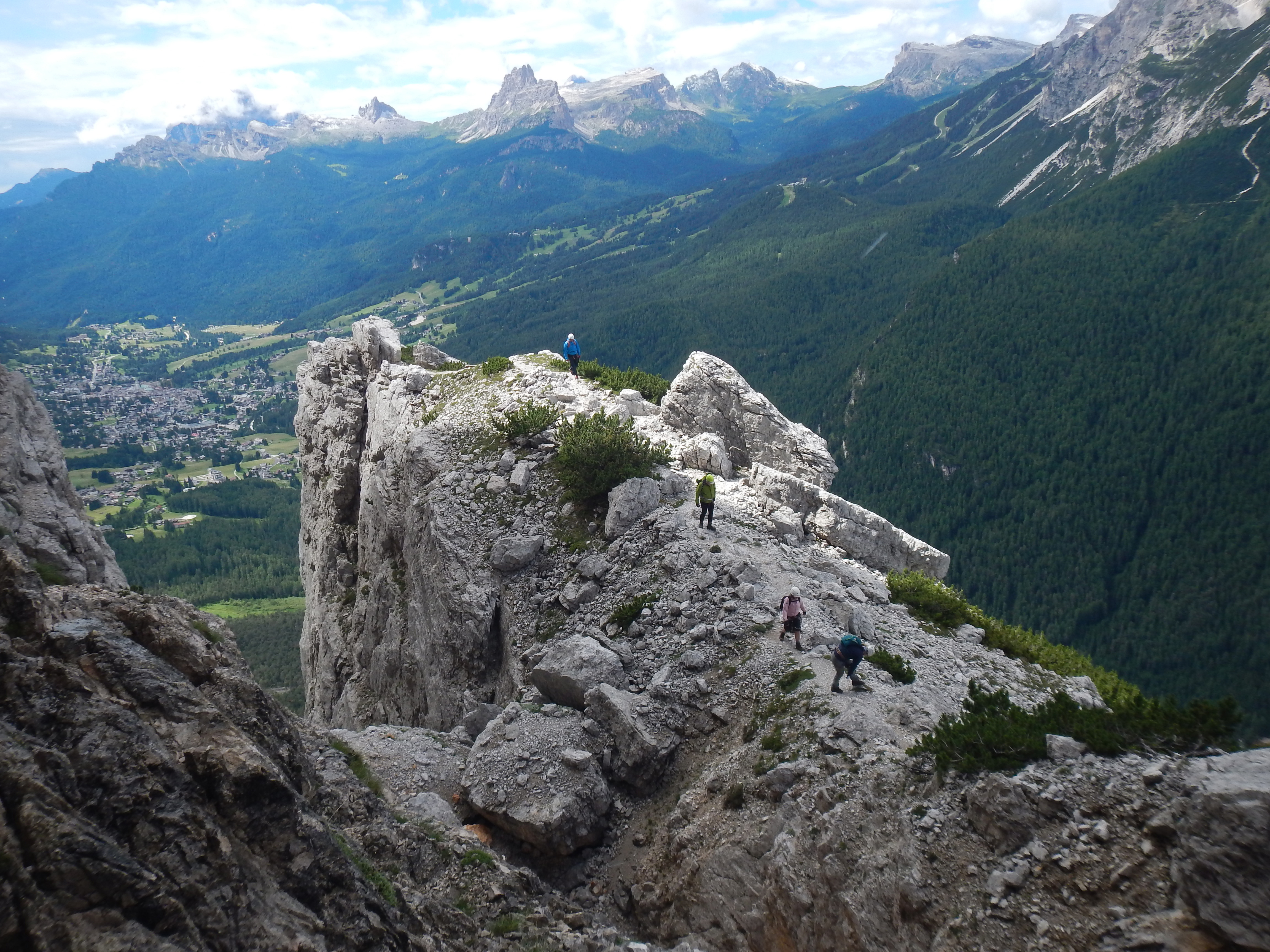 Family Introduction To Via Ferrata