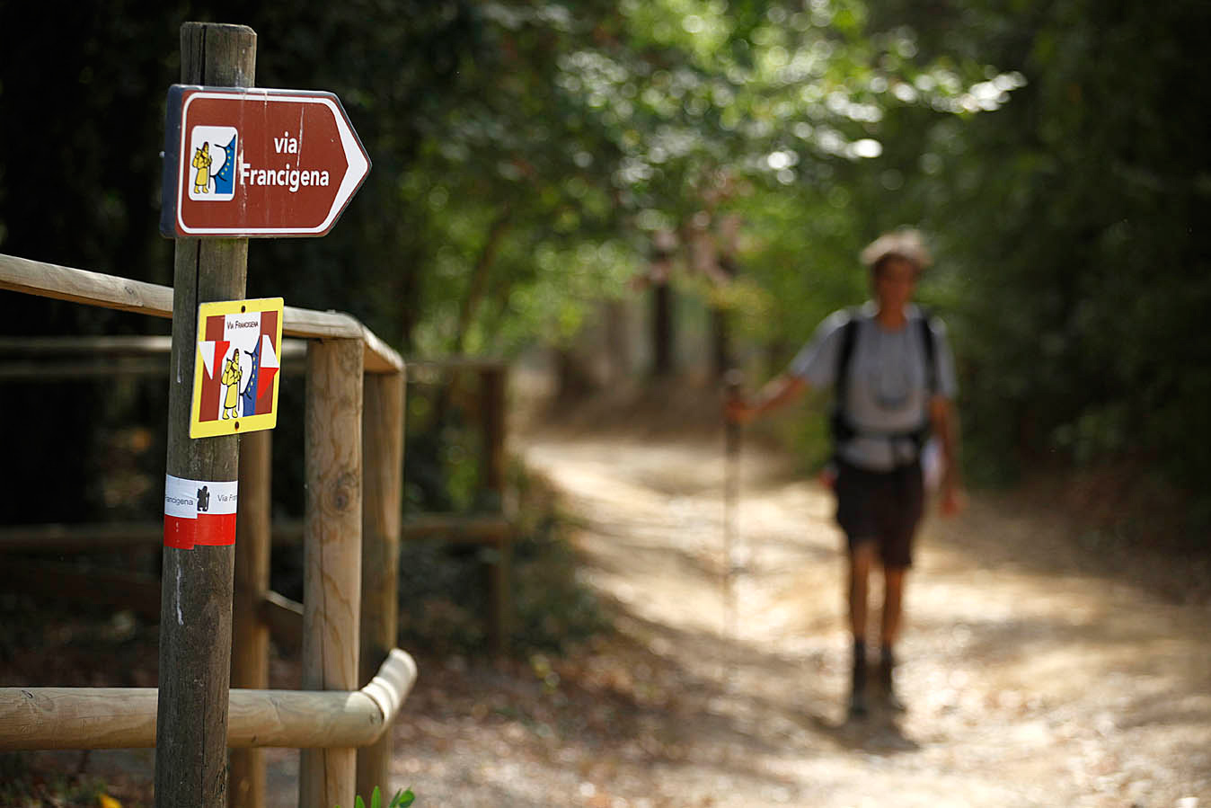 Self-Guided Walking on the Francigena Way