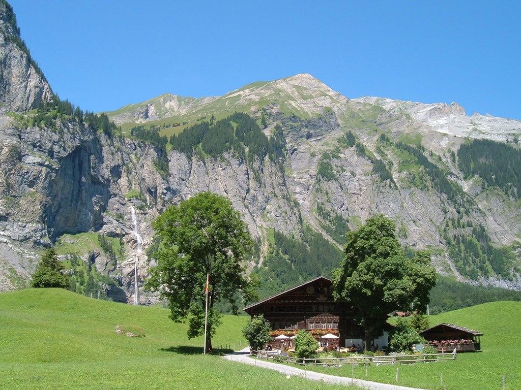 Self-Guided Walking in Kandersteg