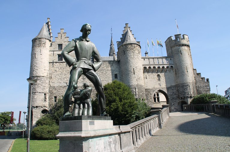 Cycling from Bruges to Brussels