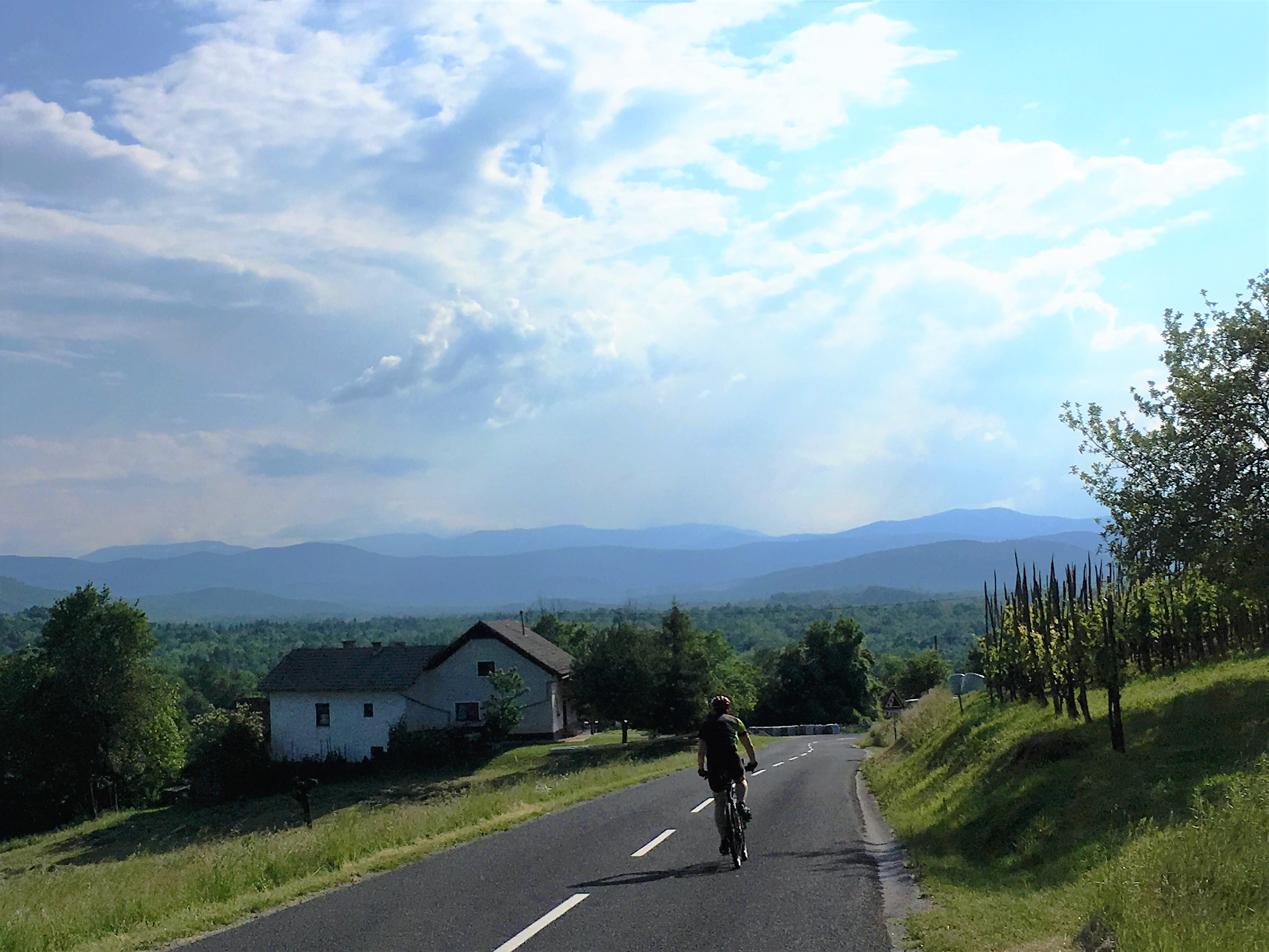 Cycling the Adriatic Coast: Istria and the mountains