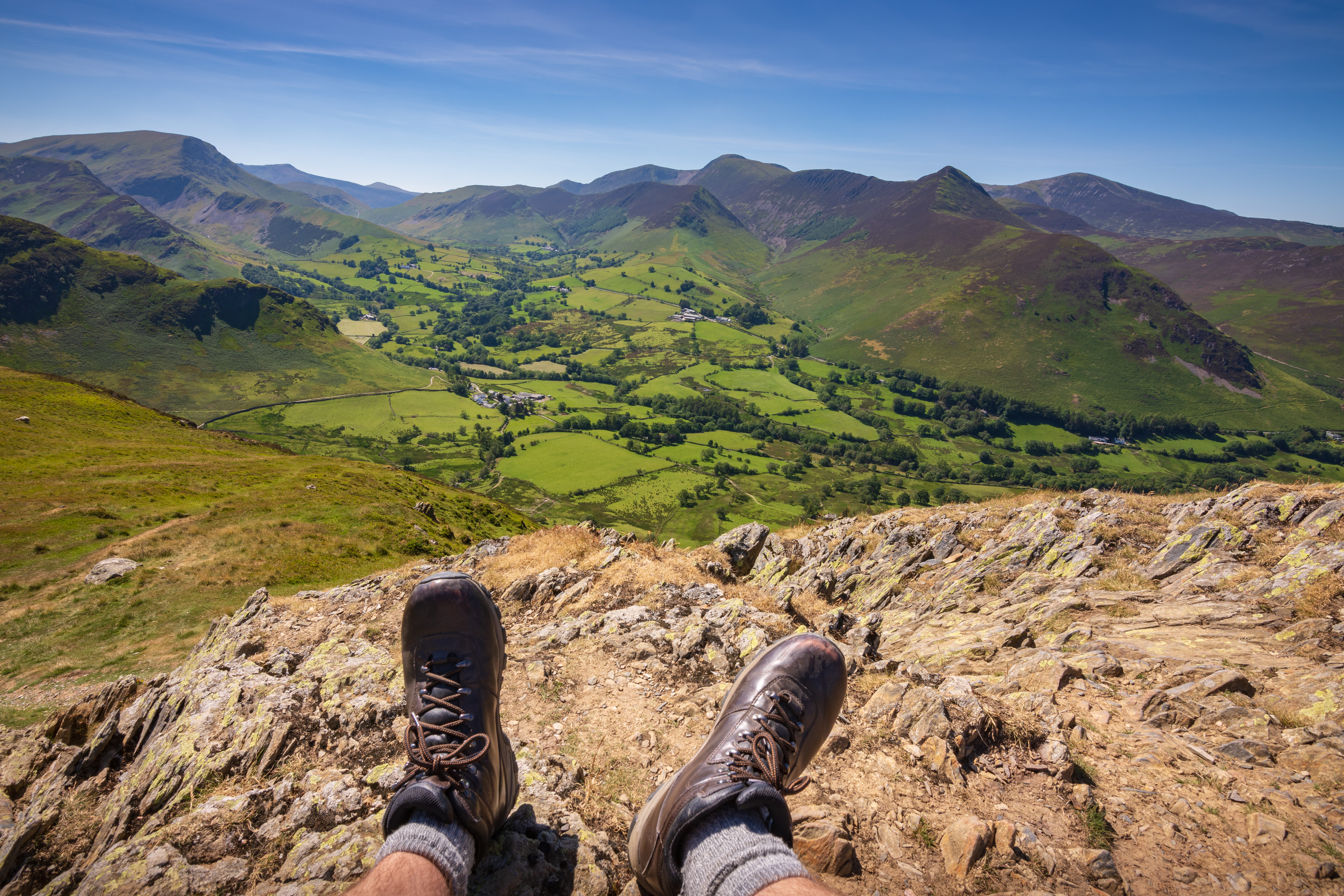 High Fells and Summits of the Lake District