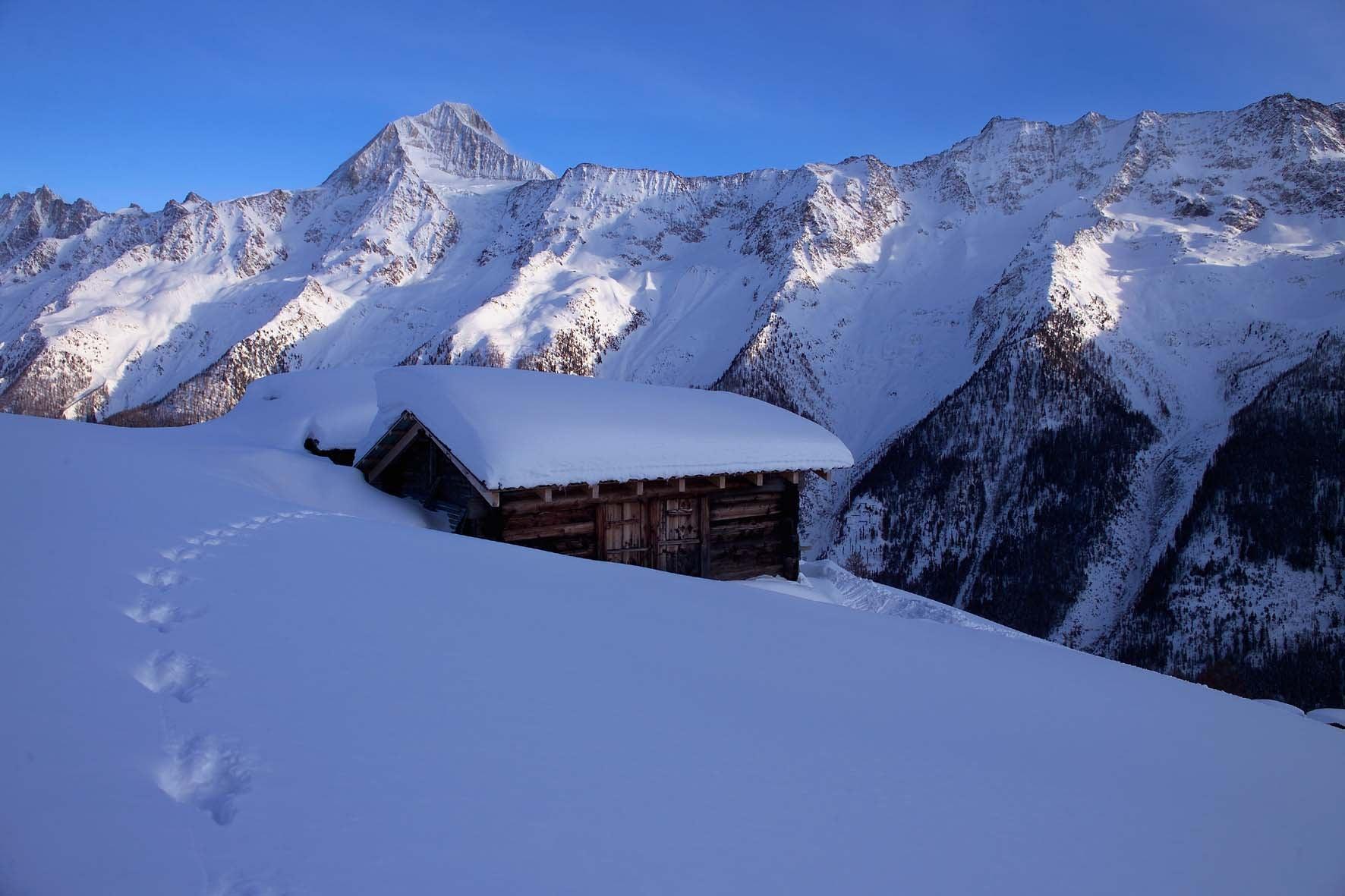 Cross-country Skiing in Kandersteg