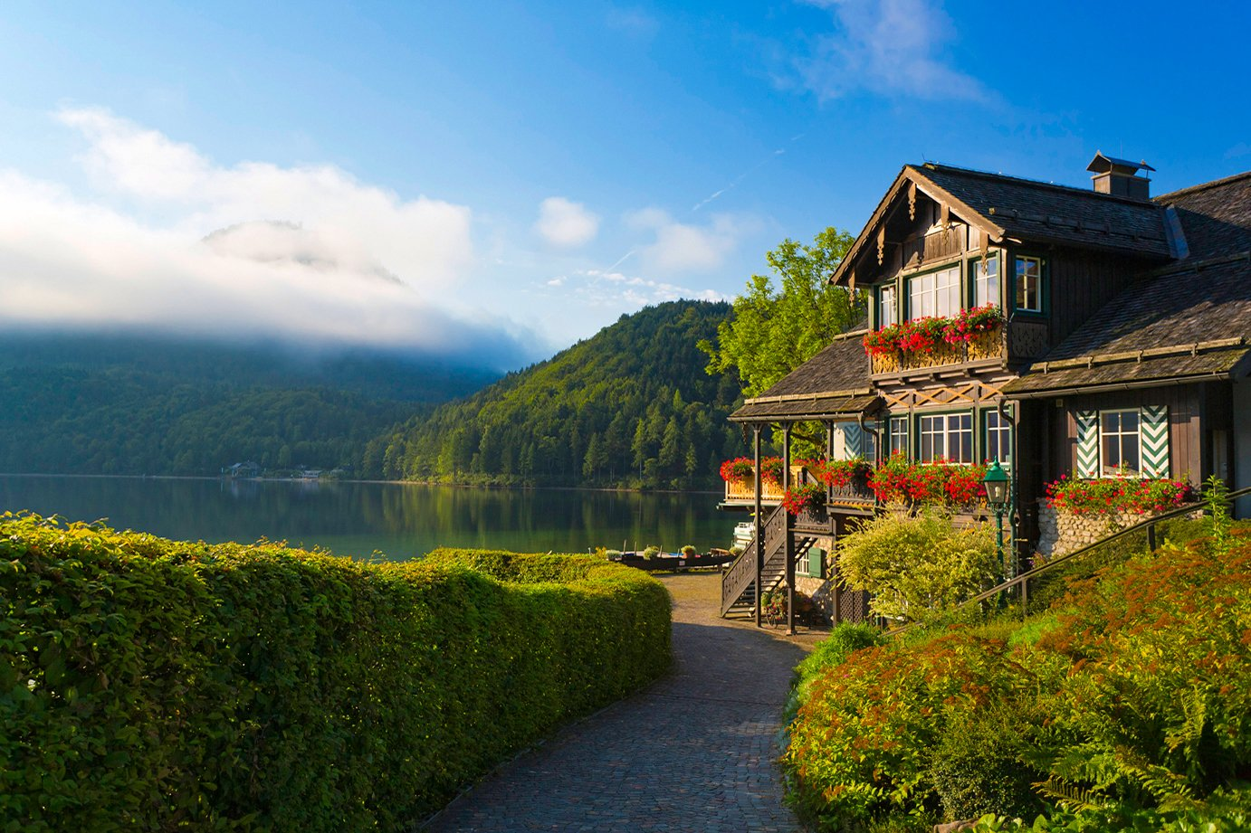 Cycling the Lakes and Rivers of the Salzkammergut