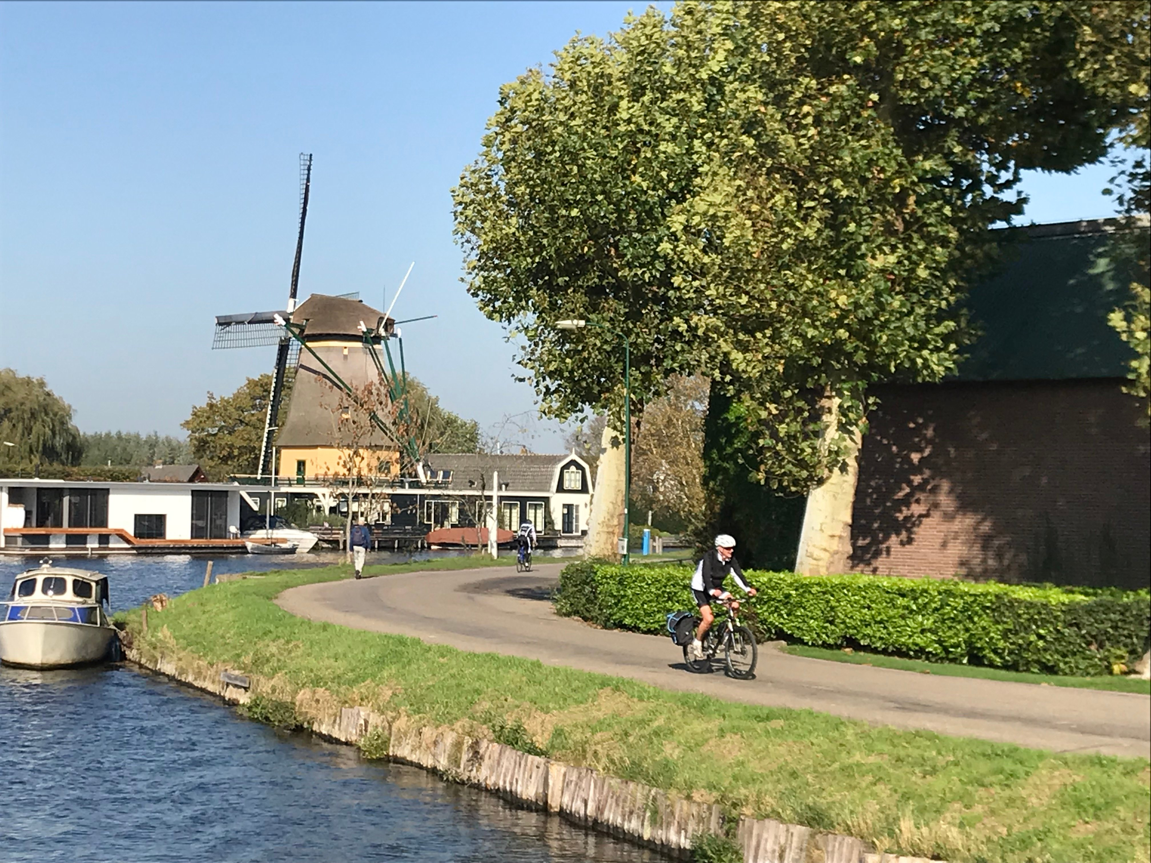Cycling from Utrecht