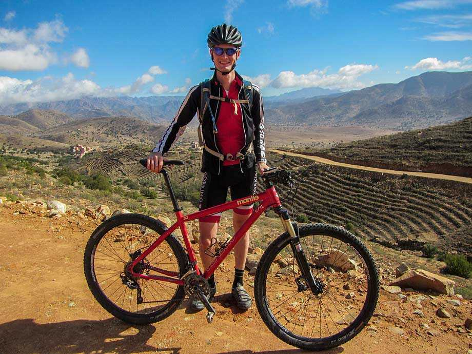 Dave in the Atlas Mountains
