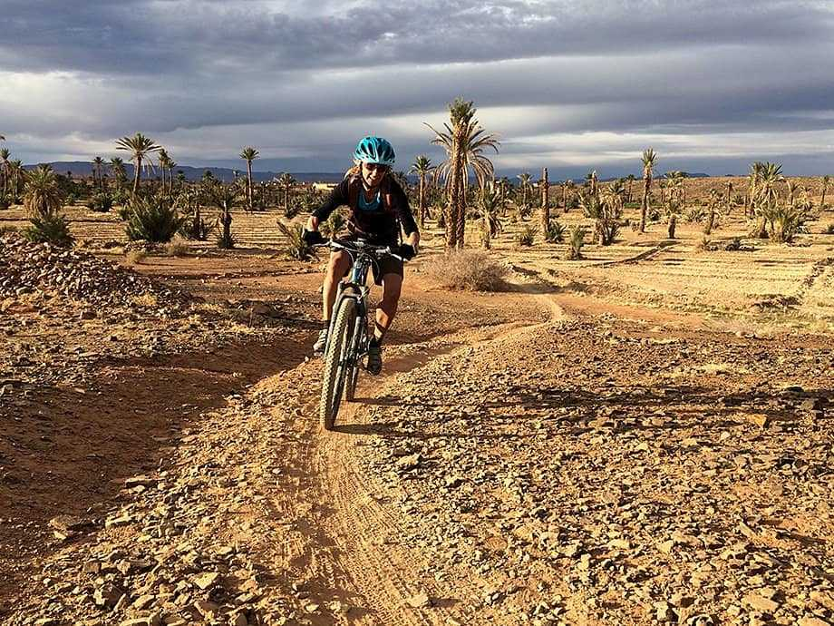 Cycling off-road in Morocco