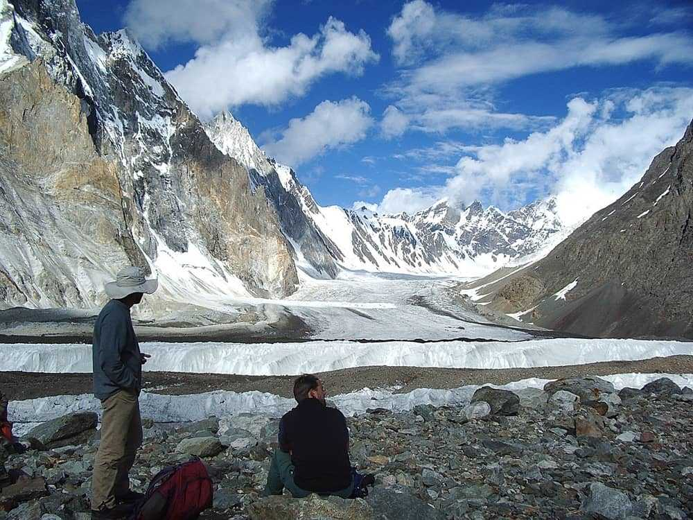 Baltoro Glacier towards Concordia