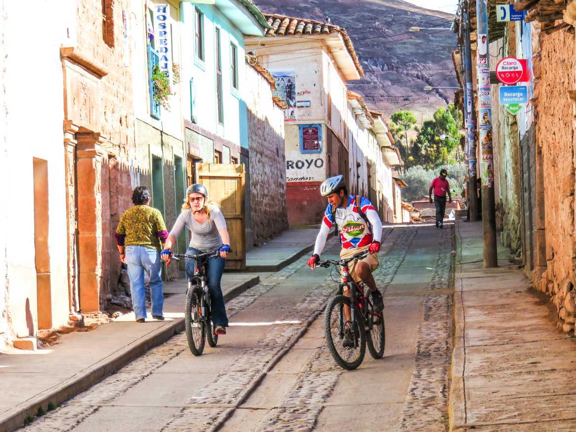 cycling in peru