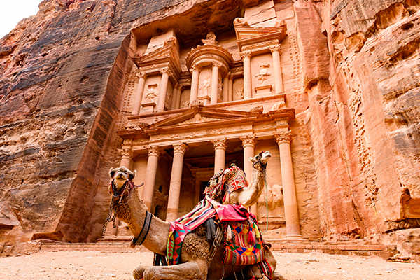 Rose Red City of Petra, Jordan