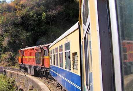 Toy train, India