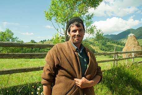 Romanian Farmer