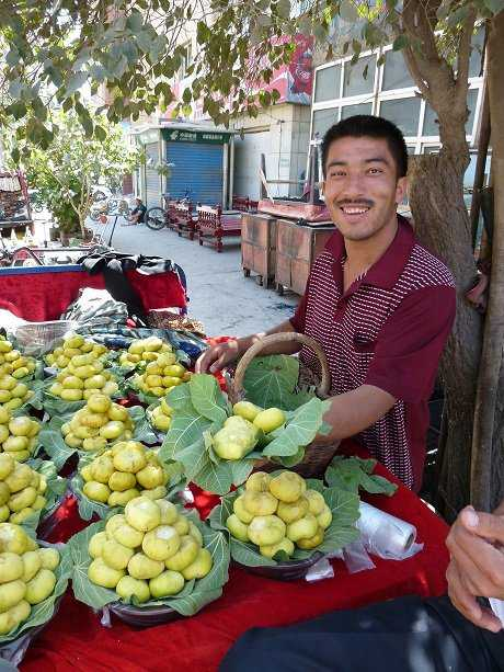Fig seller, Kashgar