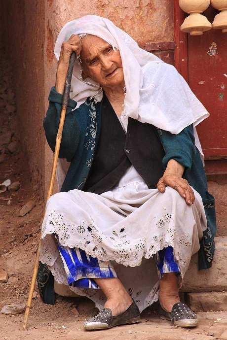 Lady in Kashgar