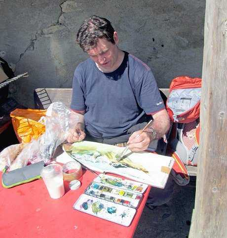 Neil painting