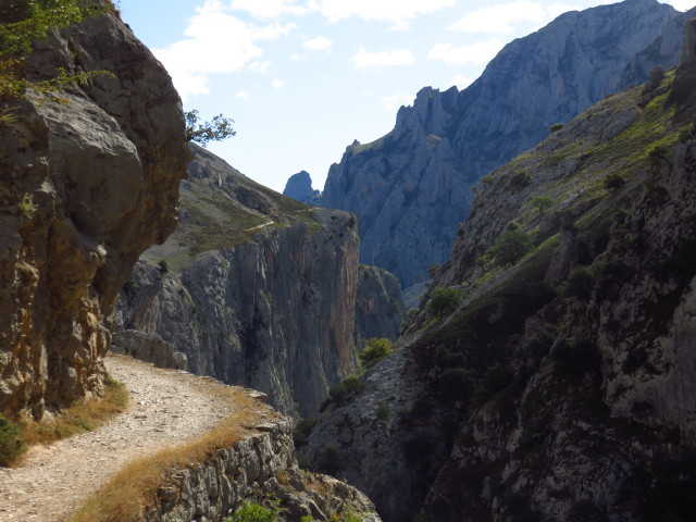 high path on the picos de europa