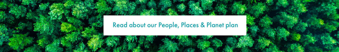 People, Planet & Places plan
